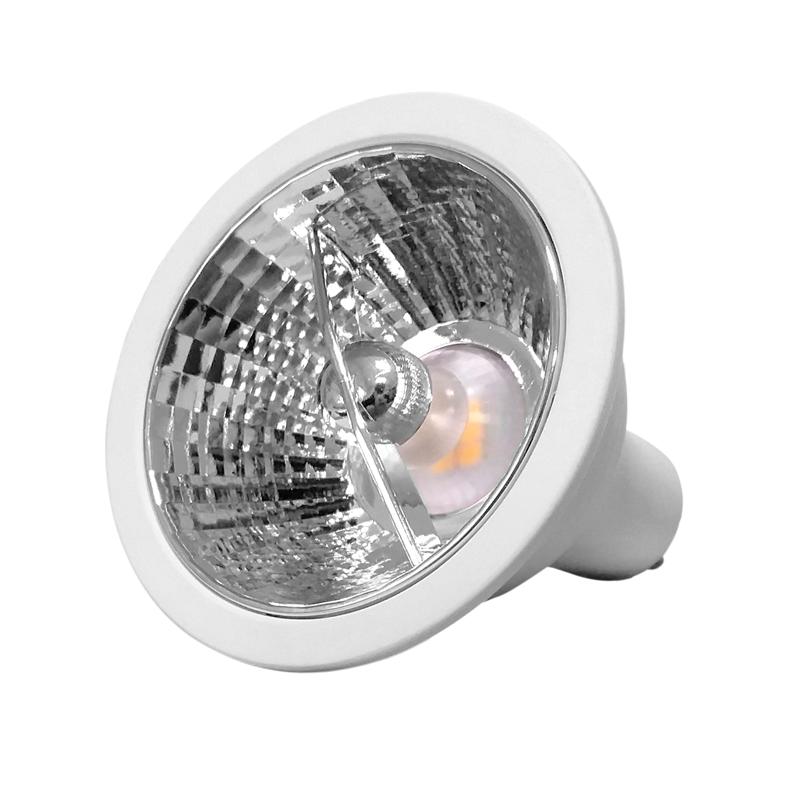 LAMPADA AR70 GU10 LED SMD 4,8W 2700K 12 GRAUS BIVOLT