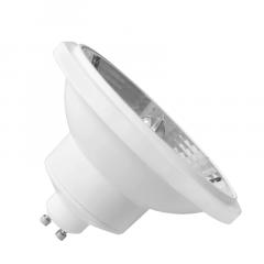 LAMPADA AR111 GU10 LED 12W 12° BIVOLT BRANCO QUENTE