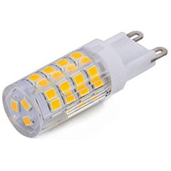 LUSTRE PLAFON DE CRISTAL KRI 4L + LAMPADA LED 3W 2700K