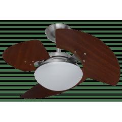 Ventilador de teto Aventador Stilo Aço Escovado TRON