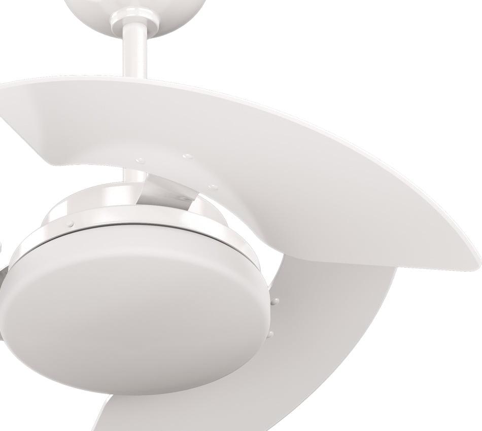 Ventilador de teto Aventador Branco 3 pás CLM TRON