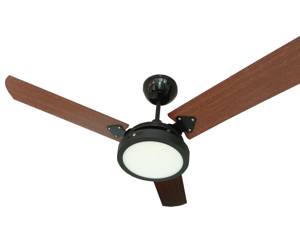Ventilador De Teto Tron Pera New 220V Com LED 18W